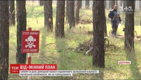 Донбасс после трехлетней войны будут разминировать еще полвека