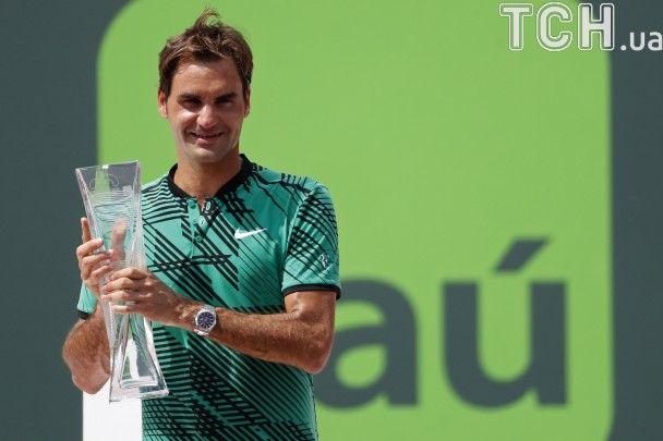 Повернення короля. Як Федерер обіграв Надаля в фіналі турніру в Маямі