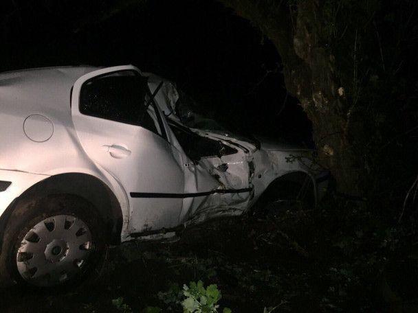 Замначальника патрульной полиции Днепра попал в головокружительное ДТП на служебном авто