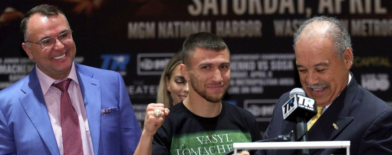 Ломаченко може провести бій-реванш із Салідо наприкінці 2017 року