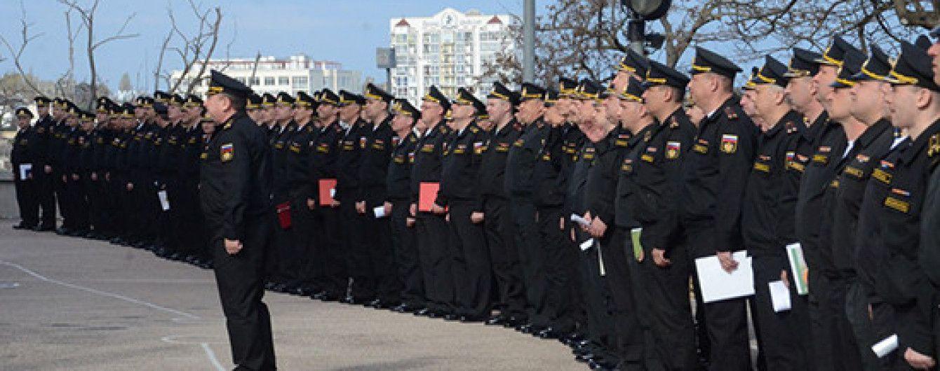 В оккупированном Крыму Минобороны России начало проверку военных частей Черноморского флота