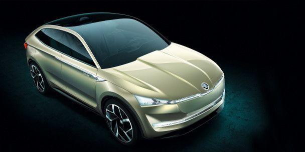 В Китае состоялась премьера электрического прототипа Skoda Vision E