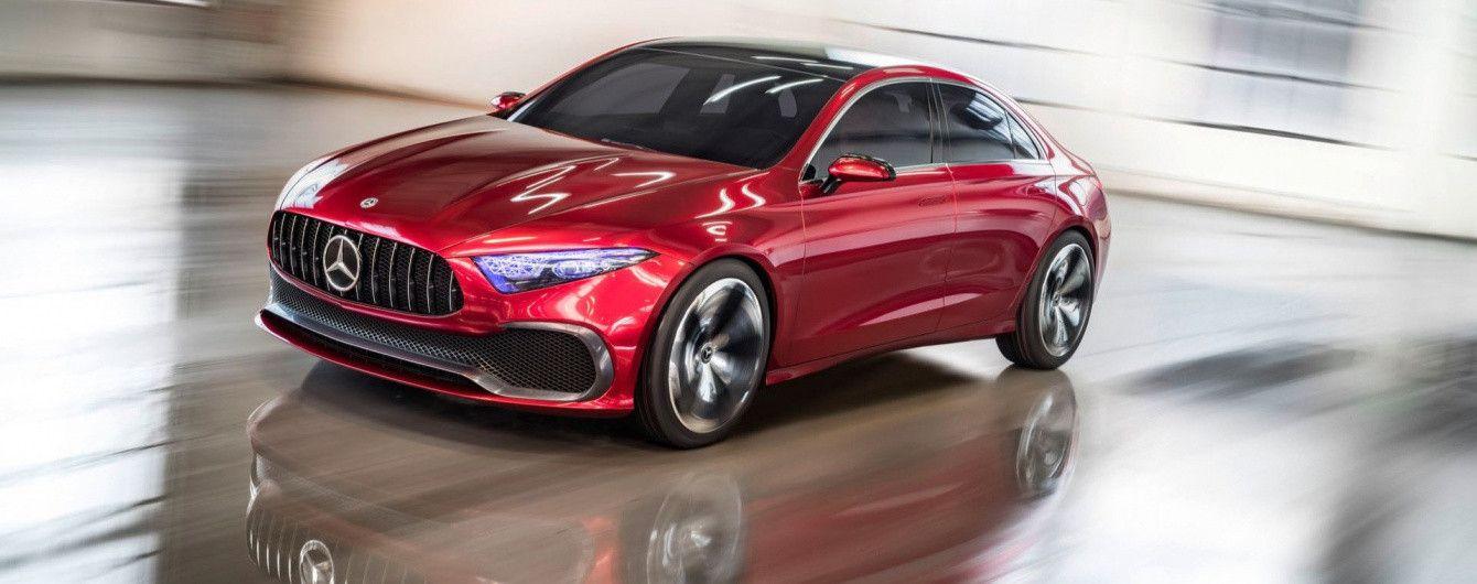 Mercedes-Benz представил в Шанхае A-Class в кузове седан