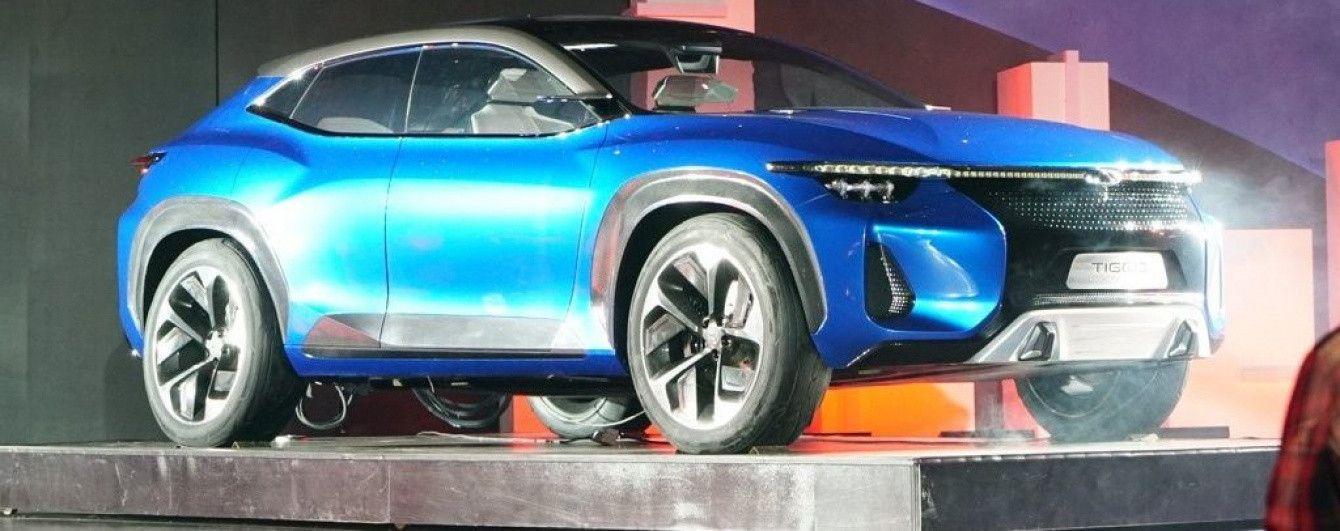Chery показала концептуальный вседорожник Tiggo Coupe