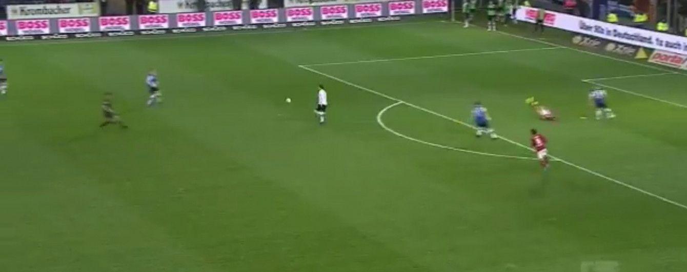 Іранський воротар зробив нереальний ляп в матчі чемпіонату Німеччини