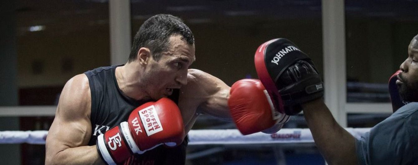 Кличко анонсировал бой против Джошуа как самый зрелищный в истории бокса