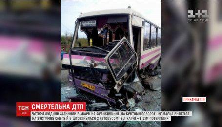 З реанімації перевели водія, який потрапив у ДТП на Прикарпатті