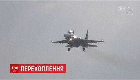 Американські винищувачі перехопили два російських бомбардувальники над Аляскою
