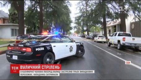 В американській Каліфорнії чоловік розстріляв перехожих