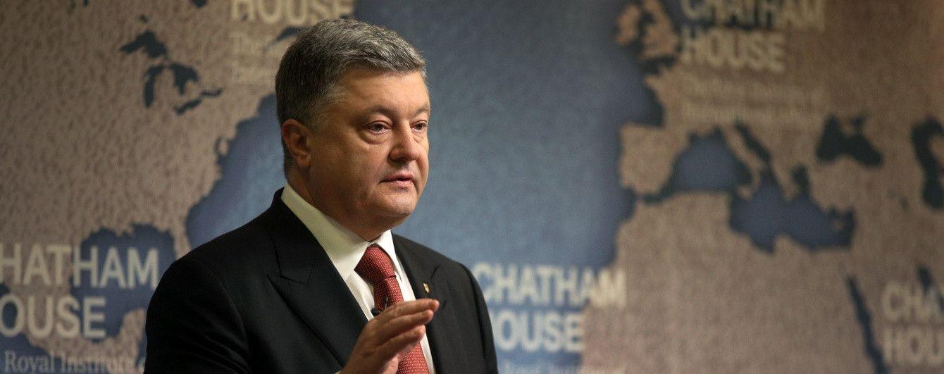 Порошенко определился с судьбой закона о членстве Украины в НАТО