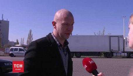 Дорн у Києві втік від журналіста ТСН