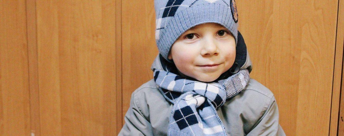 5-летний Клим, который пострадал во время обстрела Краматорска, нуждается в помощи