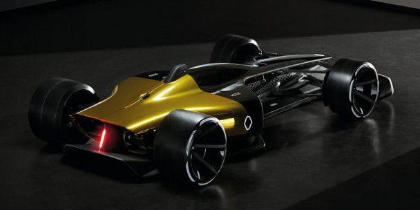 Renault представила гоночный болид будущего