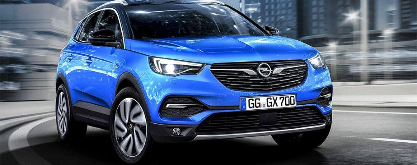 Opel рассекретил новый кроссовер Grandland X