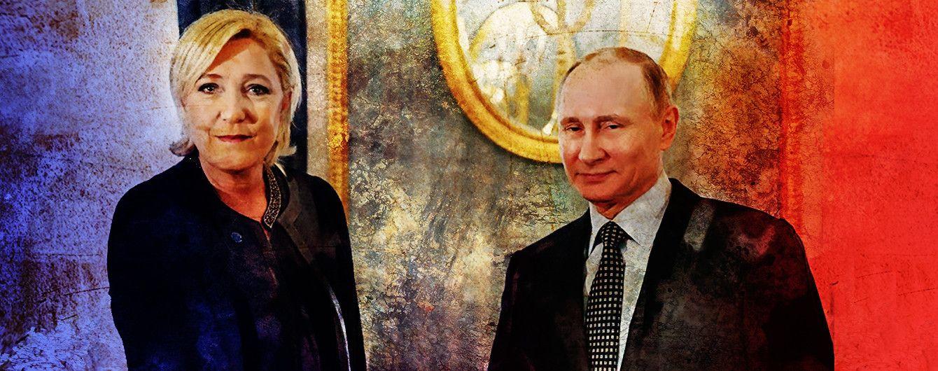 Чому флірт Путіна з Ле Пен може вистрелити у відповідь
