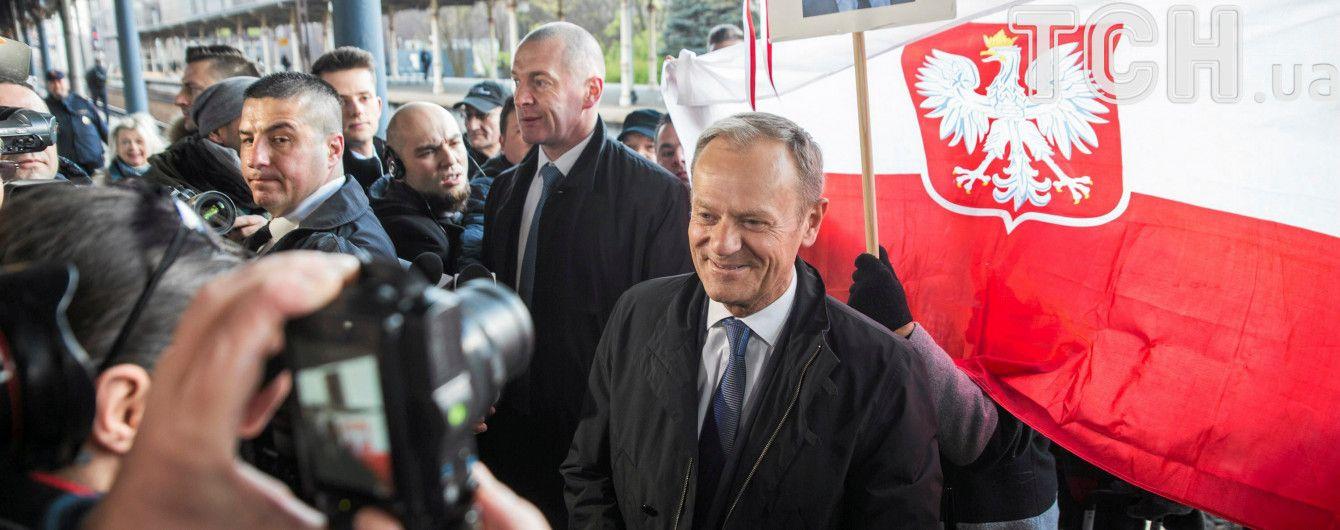 Туска допитують у прокуратурі у справі співпраці контррозвідки Польщі з ФСБ