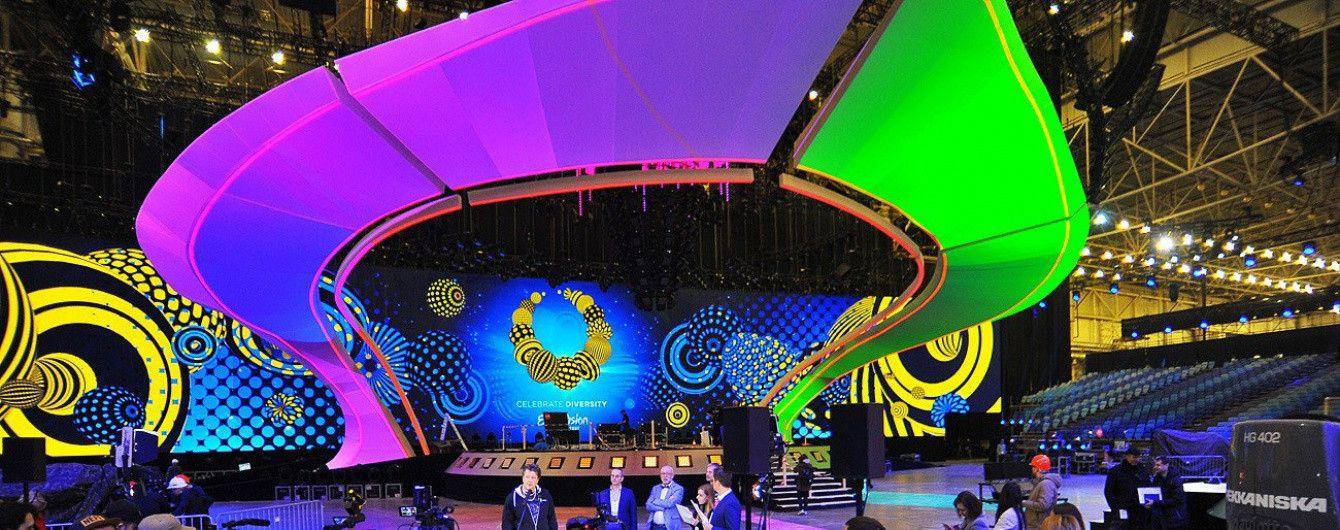 """Зрелищная сцена для """"Евровидения-2017"""" в Киеве полностью готова"""
