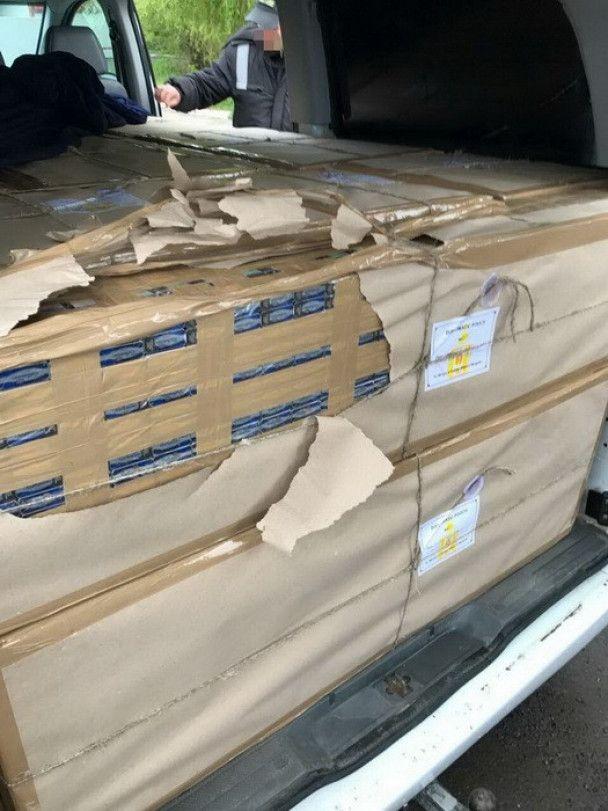 На Закарпатті СБУ виявила контрабанду в авто з дипломатичними номерами