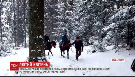 Морозная погода продержится в Украине до конца апреля