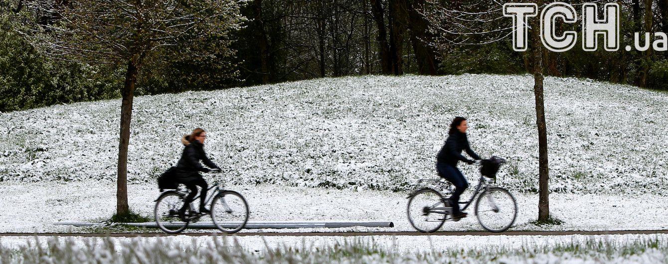 Снігова негода дісталась Кропивницького