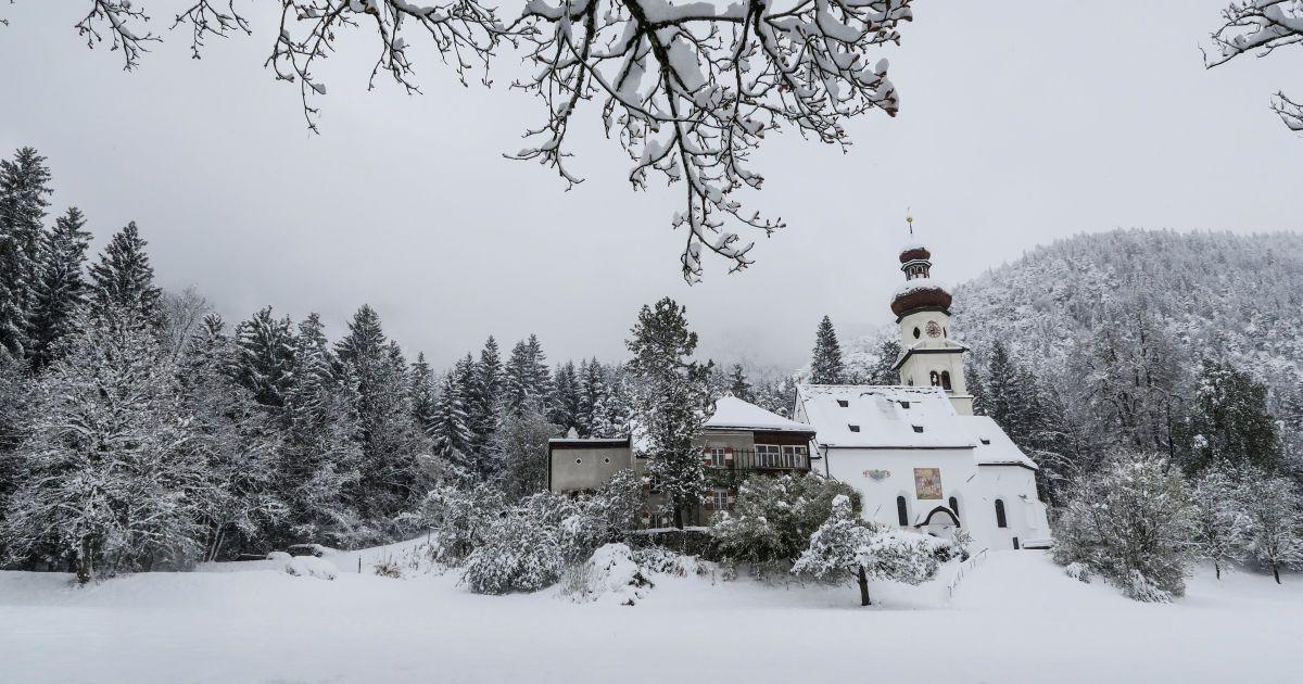 Сніг накрив Німеччину @ Reuters