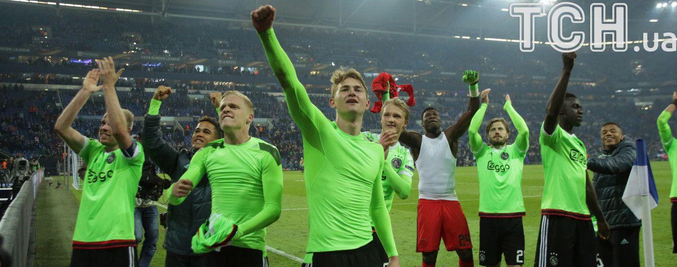 Ліга Європи. Результати матчів 1/4 фіналу