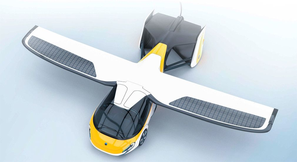 Летающий автомобиль AeroMobile