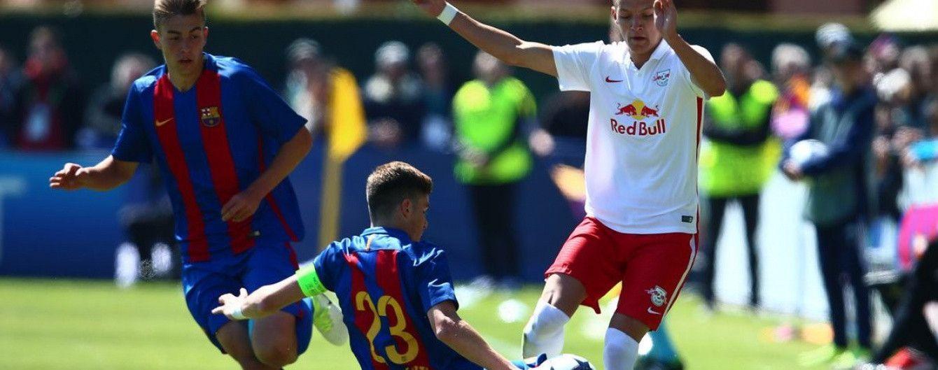 """""""Барселона"""" програла в півфіналі юнацької ліги УЄФА"""