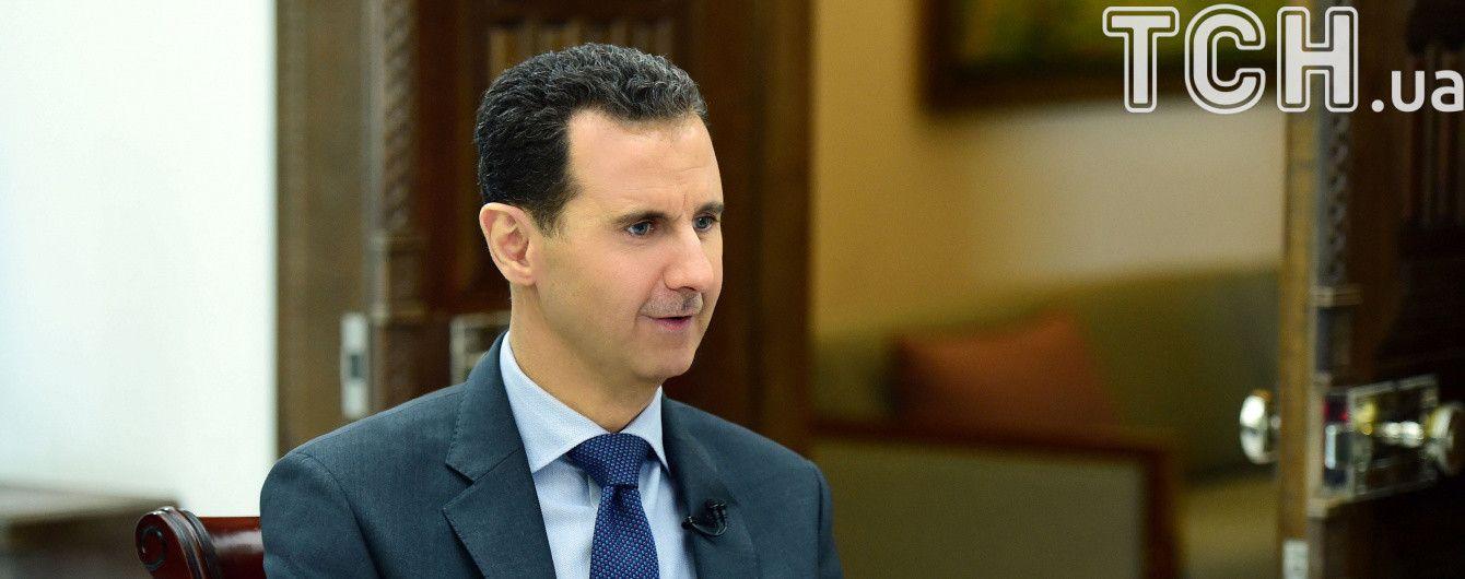 Асад відмовився від французького ордена Почесного легіону