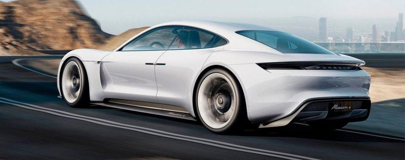 В компании Porsche планируют выпустить линейку электромобилей в 2020 году