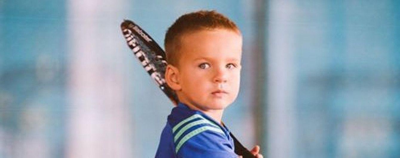 Трехлетний одессит стал самым молодым теннисистом Украины