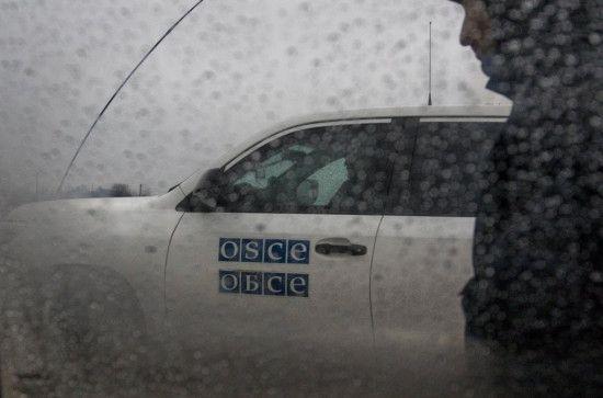 На Донбасі бойовики погрожували патрулю ОБСЄ крупнокаліберним кулеметом