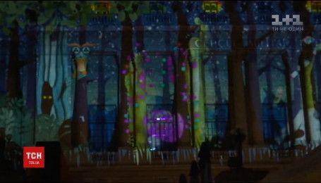 Зрелищный фестиваль света провели в Румынии