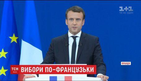 У другий тур президентських перегонів у Франції пройшли Макрон і Ле Пен