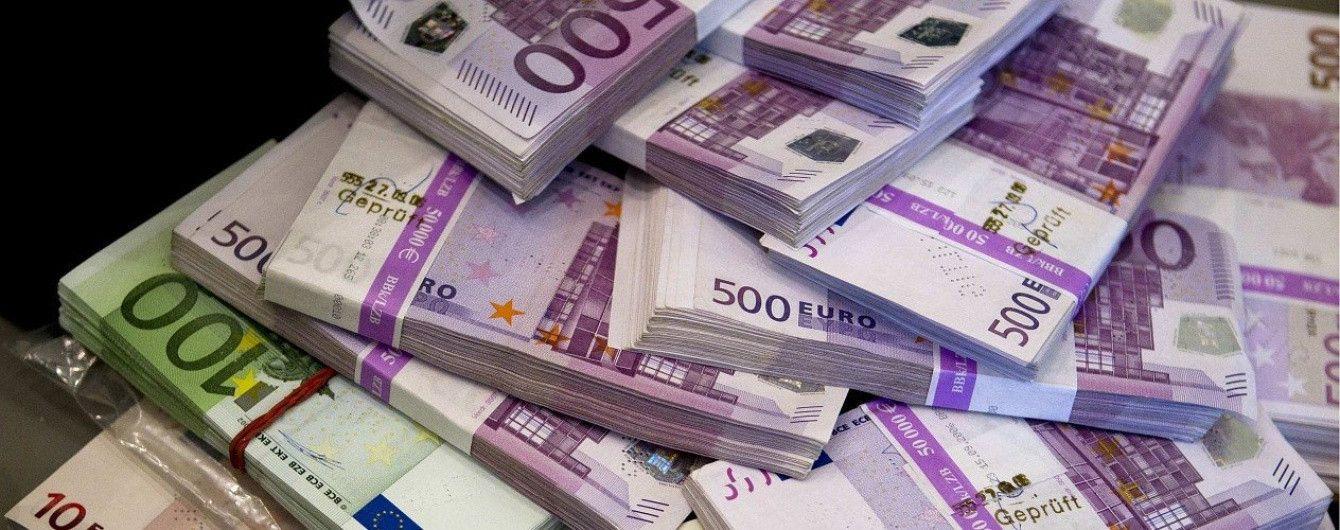 Евро возобновит рост в курсах валют от НБУ на понедельник