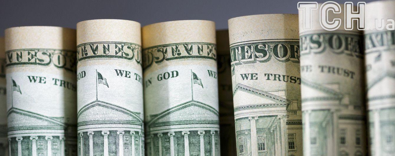 Долар залишився стабільним у курсах Нацбанку на 14 серпня. Інфографіка