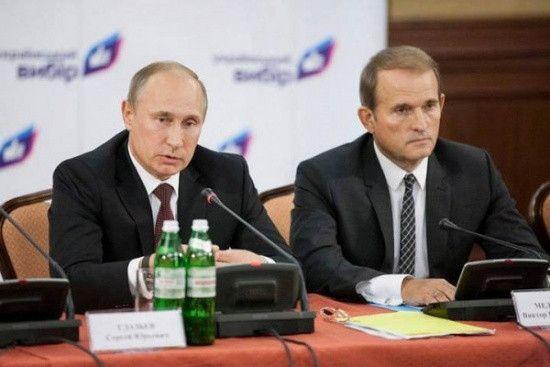 Путін обговорив з Медведчуком другий етап звільнення заручників на Донбасі