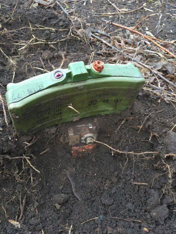 """На Донбасі у """"сірій зоні"""" знайшли російські міни, які є лише на озброєнні військових РФ"""