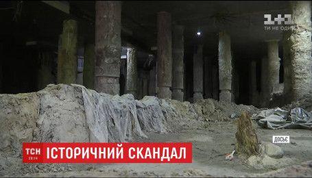 Археологи прекратили раскопки на Почтовой площади из-за невыплаты зарплаты