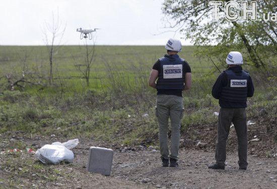 В окупованому Донецьку намагались збити безпілотник спостерігачів ОБСЄ