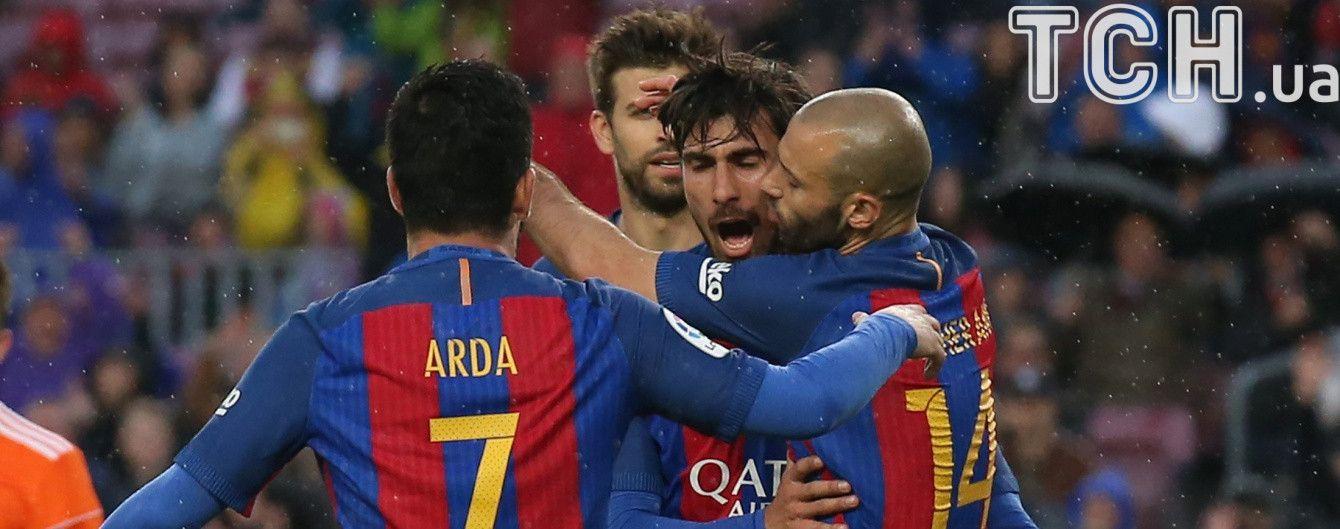 """""""Барселона"""" першою забила 100 голів у сезоні серед команд із топ-5 ліг"""