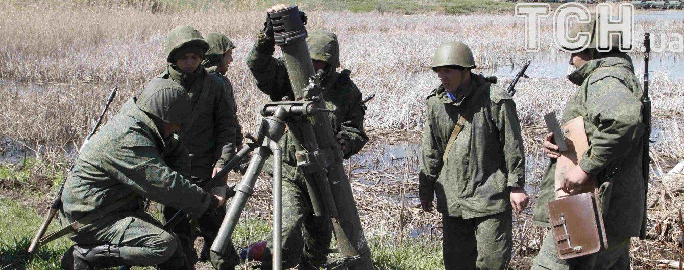 На Донбассе семеро боевиков подорвались на гранате