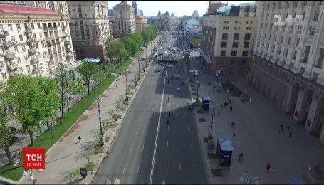 В Киеве перекрыли движение в центре города из-за Евровидения