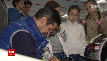 """Другий сезон """"Переможців"""": Соломія Вітвіцька та волонтери провели екскурсії для школярів"""