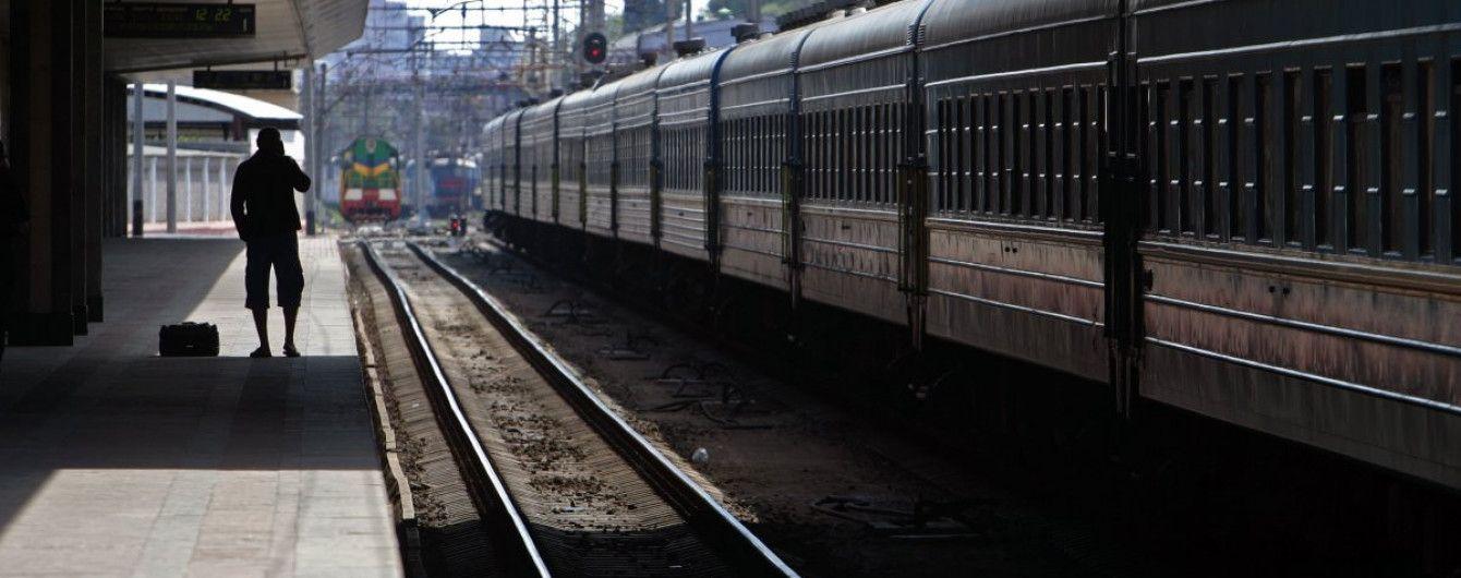 """Невідомі """"замінували"""" Центральний залізничний вокзал у Києві"""