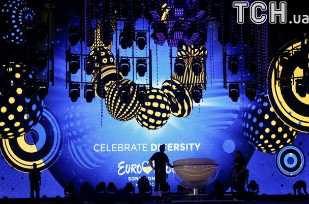 """Желто-синяя сцена и сияющие кольца. Reuters показал, где будет проходить """"Евровидение-2017"""""""