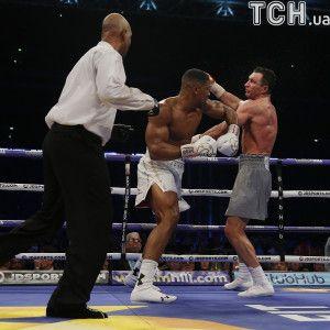 Джошуа – Кличко. Видео суперчемпионского боя