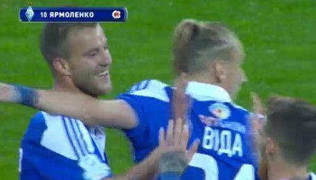 Черноморец - Динамо - 0:4. Видео второго гола Ярмоленко