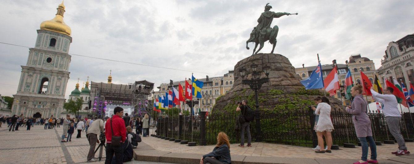У Києві відбувся унікальний квест, який учасники проходили наосліп