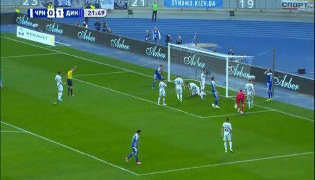Чорноморець – Динамо - 1:4. Відео-аналіз матчу